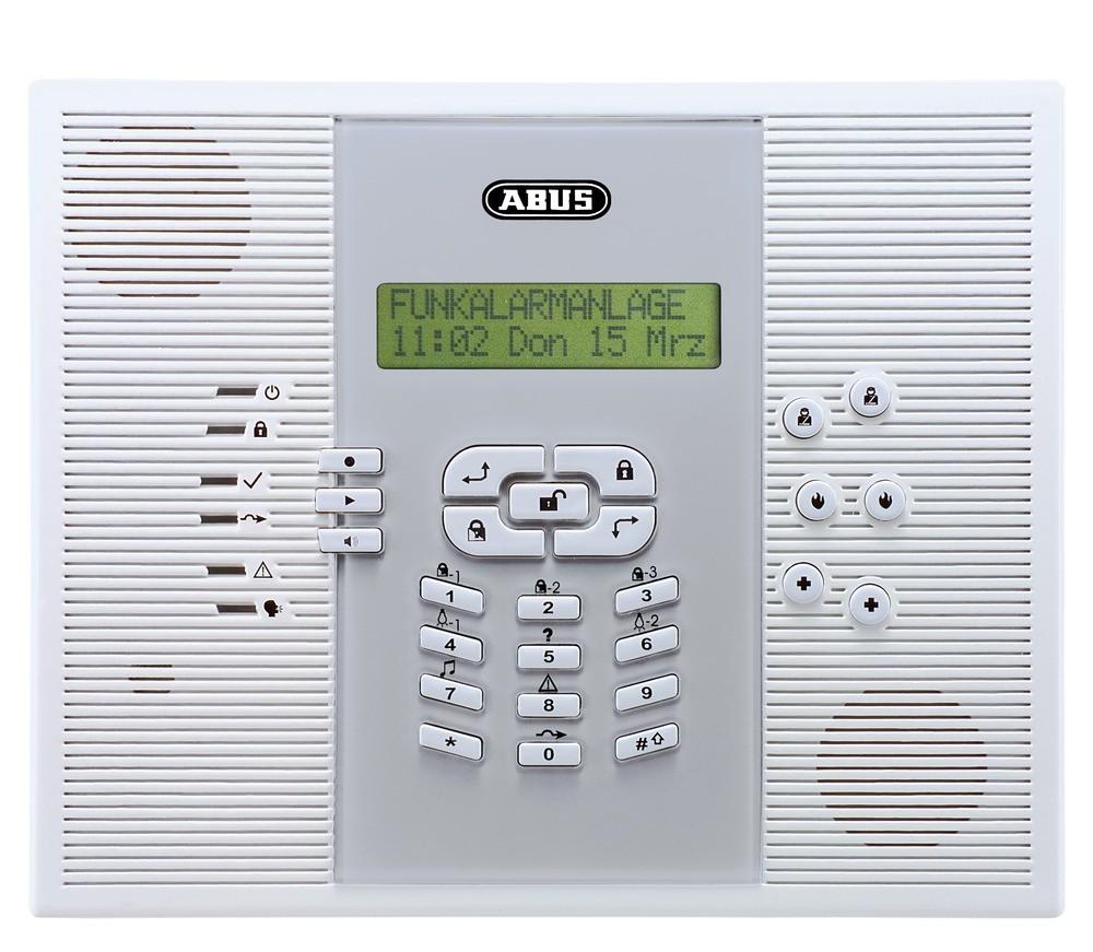 abus privest funk alarmanlage zentrale deutsch fuaa30010 homeelectric. Black Bedroom Furniture Sets. Home Design Ideas