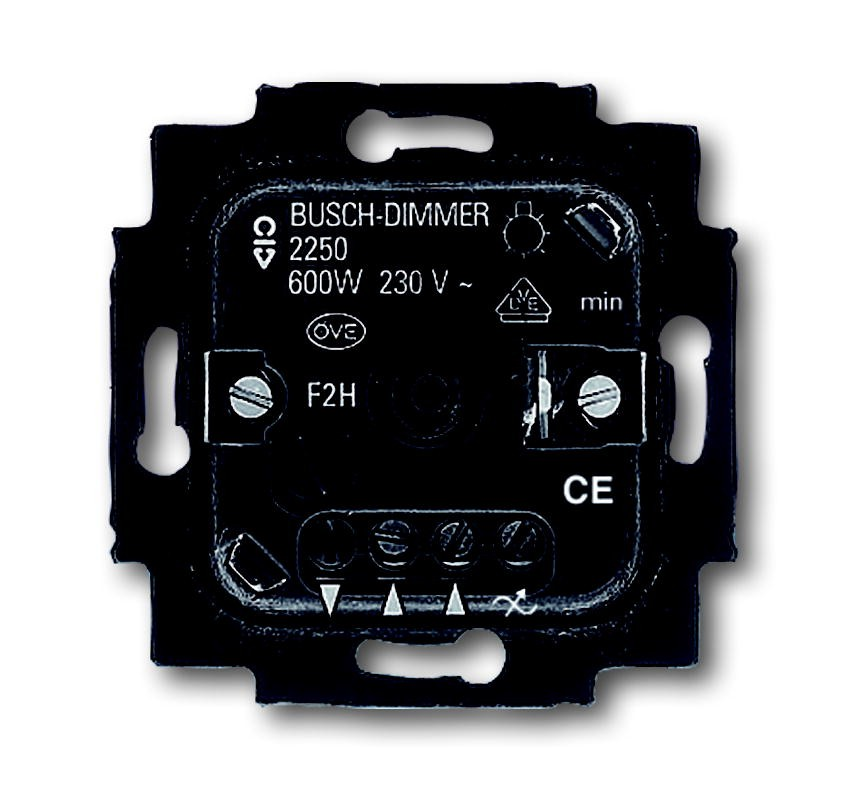 busch jaeger dimmer 2250u homeelectric. Black Bedroom Furniture Sets. Home Design Ideas