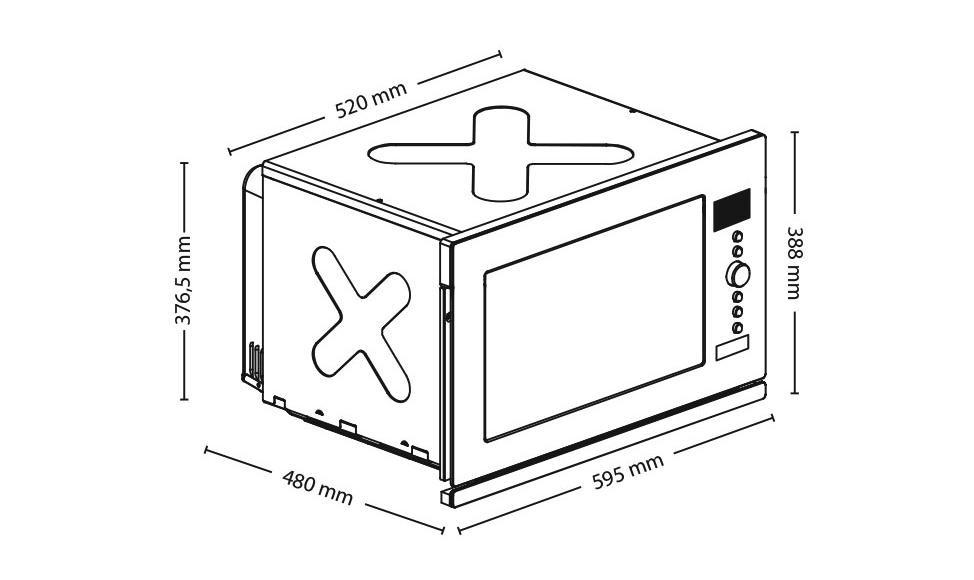 Caso einbau mikrowelleheissluftgrill emcg 32 homeelectric for Einbau mikrowellen