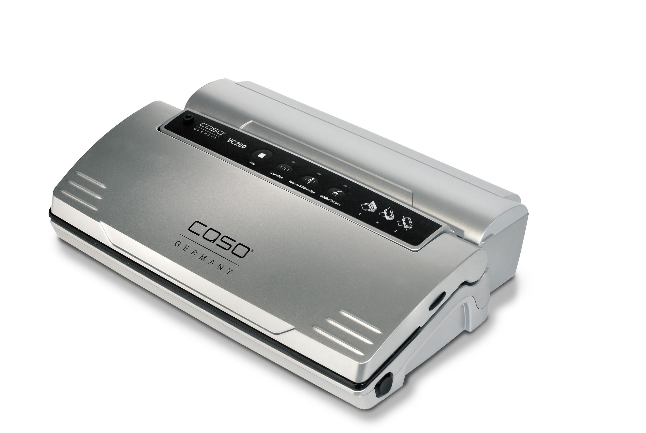 CASO Vakuumierer VC 200 mit Cutter und Folienbox