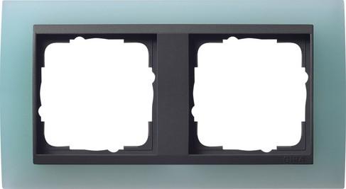 gira abdeckrahmen 2f zwischenr an gira event opak mint 021285 homeelectric. Black Bedroom Furniture Sets. Home Design Ideas
