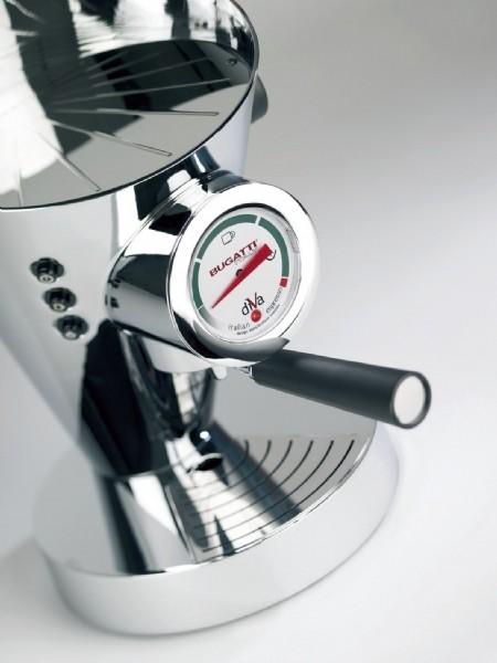 BUGATTI Espressomaschine Diva Schwarz - HomeElectric Bugatti Diva