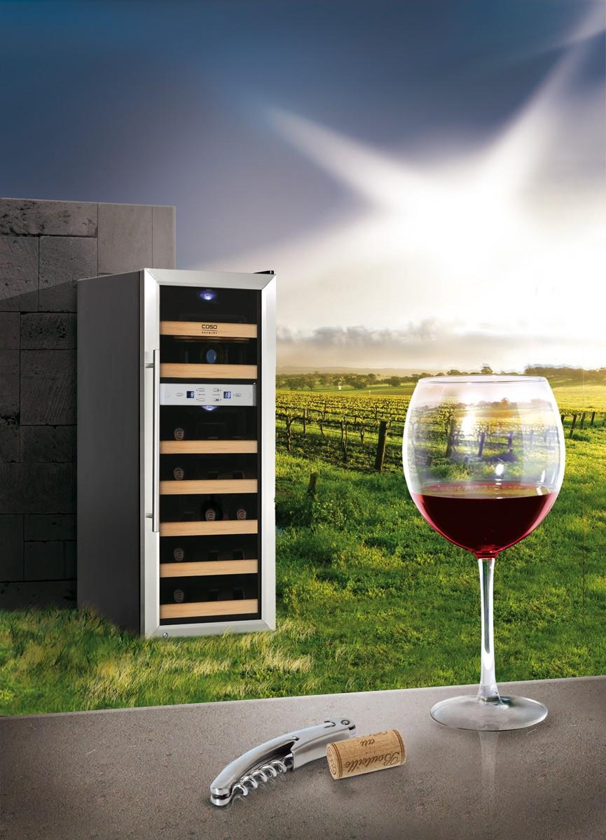 caso design weintemperierer wineduett 21 homeelectric. Black Bedroom Furniture Sets. Home Design Ideas