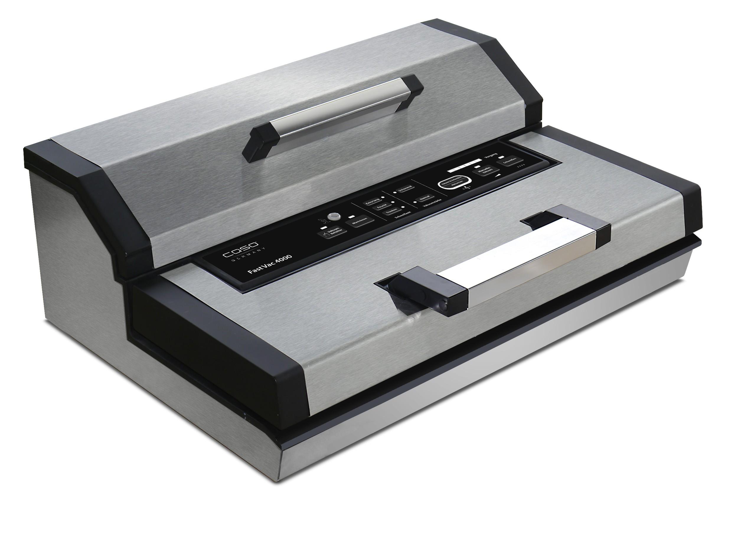 caso gewerbe vakuumierer fastvac 4000 edelstahl homeelectric. Black Bedroom Furniture Sets. Home Design Ideas