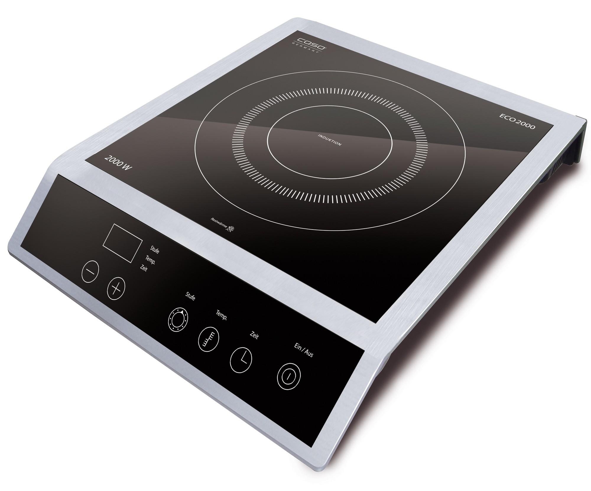 Caso design induktionskochfeld eco 2000 homeelectric for Induktionsherdplatten