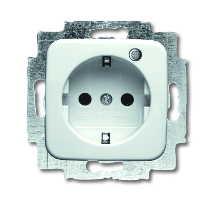 busch j ger schuko steckdosen einsatz 20 eucks 14 212 homeelectric. Black Bedroom Furniture Sets. Home Design Ideas