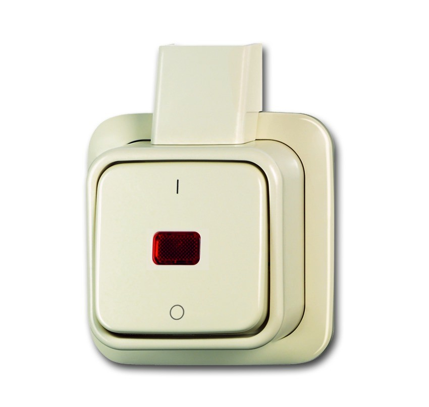 busch j ger wipp kontrollschalter 2601 2 skap homeelectric. Black Bedroom Furniture Sets. Home Design Ideas