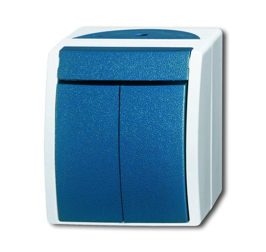 busch j ger wippschalter 2601 5 w 53 homeelectric. Black Bedroom Furniture Sets. Home Design Ideas