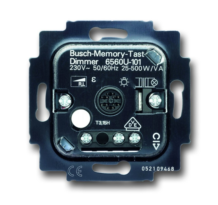 busch j ger busch tastdimmer 6560 u 101 homeelectric. Black Bedroom Furniture Sets. Home Design Ideas