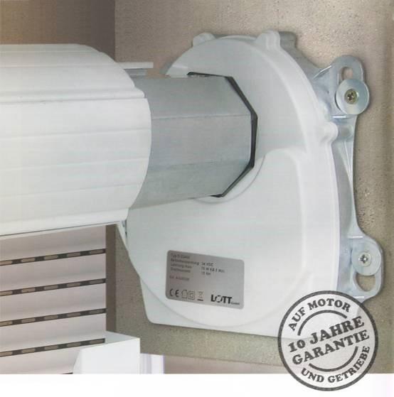Uniroll Wellenmotorset Akku Premium Maxi Typ 4 D 23160 Homeelectric