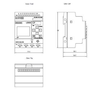 siemens logo 12 24rce logikmodul 6ed1052 1md00 0ba8. Black Bedroom Furniture Sets. Home Design Ideas