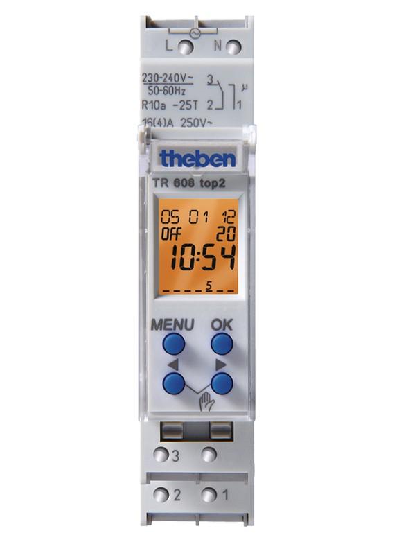 Theben Digitale Zeitschaltuhr TR 608 top - HomeElectric