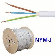 pvc mantelleitung nym j 5 x 2 5 kabel leitungen elektrotechnik homeelectric. Black Bedroom Furniture Sets. Home Design Ideas
