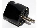 ABL Sursum Schuko PVC-Stecker schwarz 1116-100