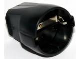 ABL Sursum Schuko PVC-Kupplung schwarz 1176-100