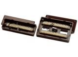 Abus Aufputz-Lötverteiler 16-polig VdS C (braun) VT4000B