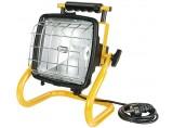 Brennenstuhl Halogenstrahler 400W Brobusta HIF 500 IP54 1171600 schwarz/gelb
