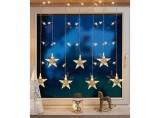 Hellum Innenbeleuchtung LED Sternenvorhang