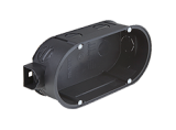 Kaiser Doppel-Geräte-Verbindungsdose UP 1656-02