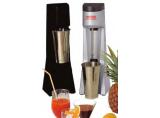 ROTOR Drink-Mixer Professional silbergrau/blau