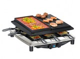 STEBA Raclette RC 4 PLUS DELUXE CHROM