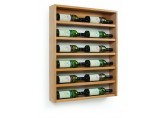 Traditional Wine Rack Scallop Wall Display