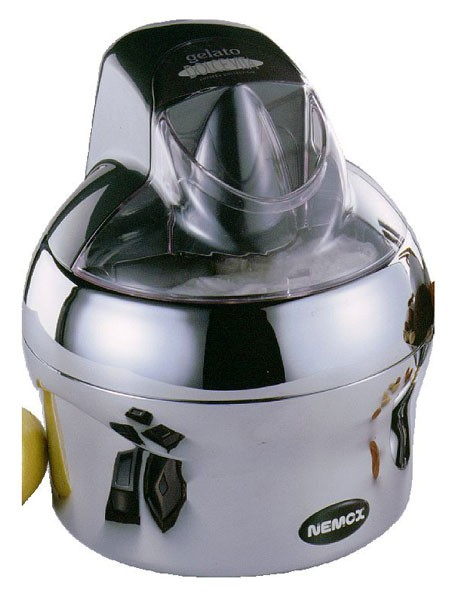 NEMOX Eismaschine Dolce Vita chrom 1,1 L