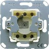 JUNG Schlüsselschalter, Jalousie-Wendetaster 134.18
