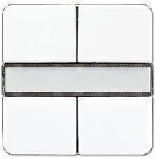 JUNG KNX Tastsensor 2fach Standard CD2072NABSWW
