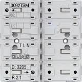 JUNG Tastsensor-Modul Universal 2fach 3092TSM