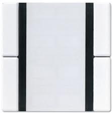 JUNG Tastsensor 2fach, Standard A2072NABSWW