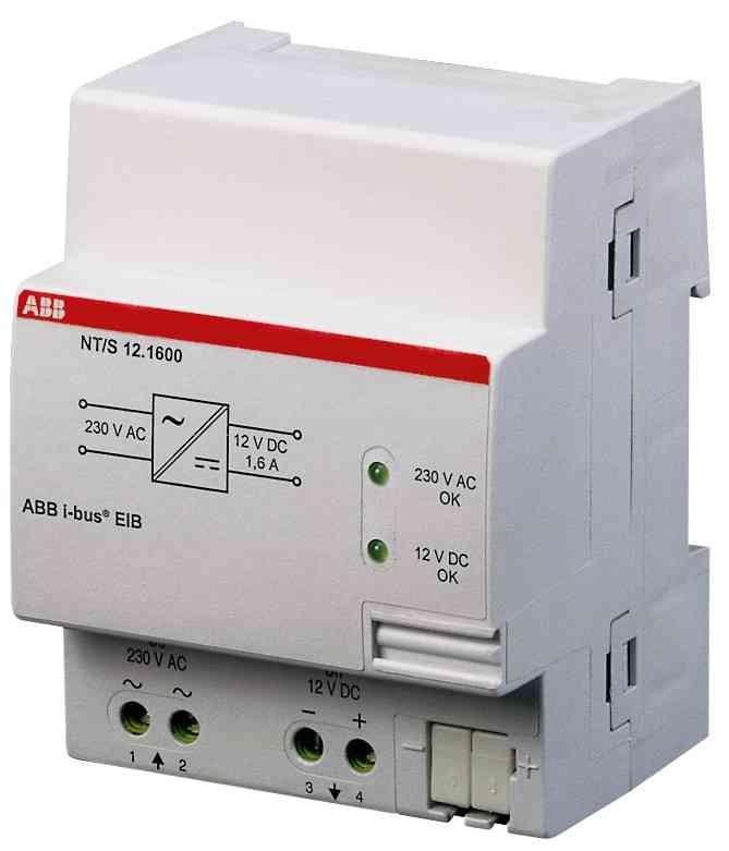 ABB Netzteil Typ NT/S12.1600, 12VDC, 1,6A GHQ6050056R0002