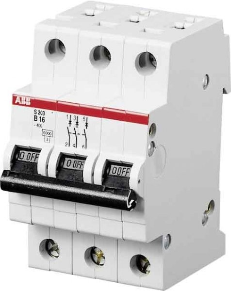 ABB Sicherungsautomat S203-B16 2CDS253001R0165