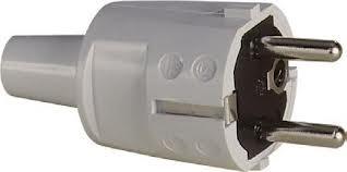 ABL Sursum Schuko PVC-Stecker grau 1418-060