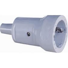 ABL Sursum Schuko PVC-Kupplung grau 1679-060