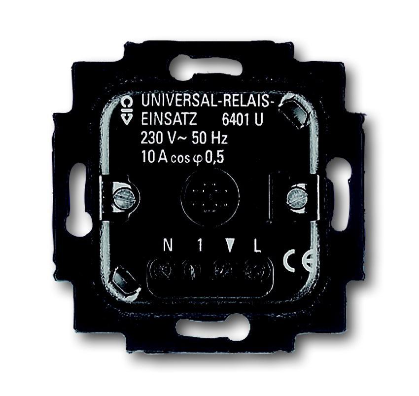 Busch-Jaeger Universal Relais Einsatz 6401U-102