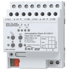 JUNG Jalousieaktor 2fach AC 110-230 V, 1fach 2502REGHE