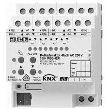 JUNG Rollladenaktor 4fach AC 110-230 V 2504REGHER