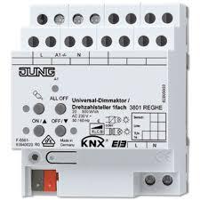 JUNG KNX Universal-Dimmaktor/Drehzahlsteller 1fach 3801REGHE
