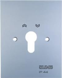JUNG Metall-Abdeckung 4.28WUG