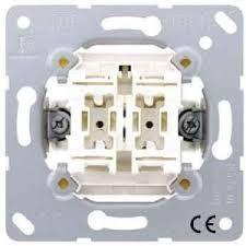 JUNG Wippschalter Serien mit 2 Glimmlampen 505U5