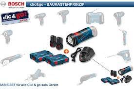 BOSCH clic & go 10,8-Volt System zusätzliche Sologerät