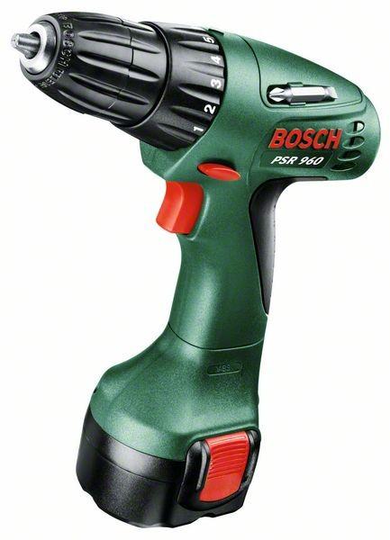 BOSCH Akku-Bohrschrauber PSR 960 9,6V