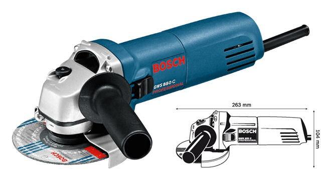 BOSCH Winkelschleifer GWS 850C Professional