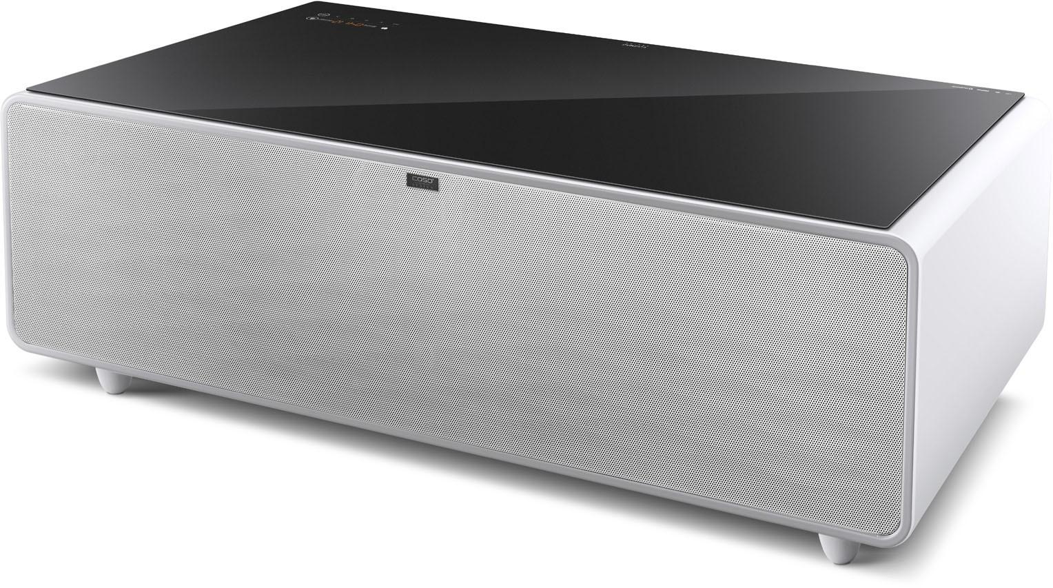 CASO Sound & Cool Tisch mit Soundbar & Getränkekühler