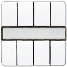 JUNG KNX Lichtszenen-Tastsensor 8fach CD2094LZWW