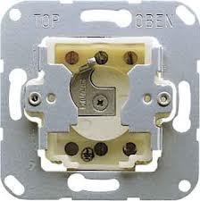 JUNG Schlüsselschalter (Jalousie-Wendetaster) 1-polig CD 134.18 WU