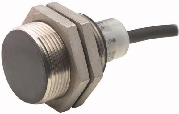 Eaton Näherungsschalter induktiv 1S Sn=10mm 2L 20-250VAC M30 Metall Ltg. 2m E57SAL30A4