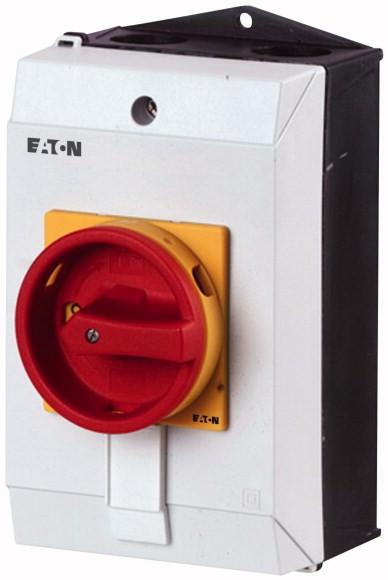 Eaton Hauptschalter 8-polig 32 A NOT-AUS-Funktion 90 ° abschließbar in 0-Stellung Aufbau T3-4-8344/I2/SVB