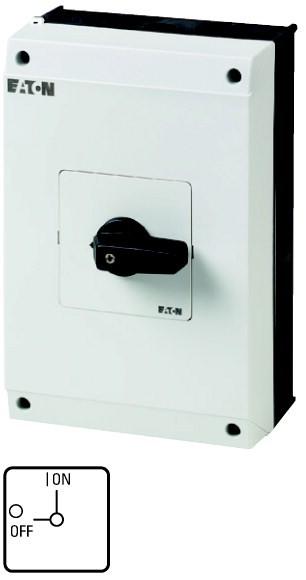 Eaton EIN-AUS-Schalter 1-polig 63 A 90 ° Aufbau T5B-1-8200/I4